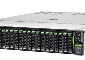 Fujitsu RX2540 M5, Xeon Silver 4208 (1/2), 16GB DDR4-2933 R ECC (1/24), SSD/SAS/SATA 2.5″ (0/8), EP420i, IRMC, 800W (2/2) (VFY:R2545SC010AU)