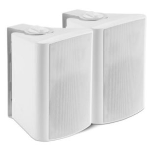 Shintaro 5.25″ Powered Indoor Wall Speakers (Active/Passive) Ideal for boardrooms & classrooms requiring increased volume from projectors, TV's & IFPs (SH-S720W)