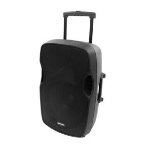 Gemini AS-15TOGO Portable PA speaker system (15″ Active battery-powered loudspeaker | 2000W Peak Power | Bluetooth | Wired microphone) (AS-15TOGO)