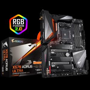 Gigabyte AM4 AMD X570 ATX PCIE-4 DDR4 (GA-X570-AORUS-ULTRA)