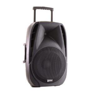 Gemini ES-15TOGO Portable PA speaker system (15″ Active battery-powered loudspeaker | 800W Peak Power | Bluetooth | 2 x Wireless microphones) (ES-15TOGO)