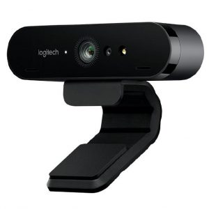 Logitech BRIO Webcam 4K Ultra HD webcam with RightLight with HDR. Limited stock. (960-001105)