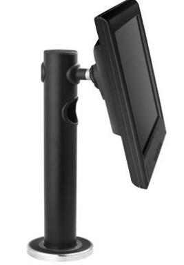 Atdec Spacedec Display POS Single Display Desk Black
