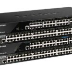 D-Link 52-Port Gigabit Smart Managed Stackable PoE+ Switch with 44 PoE+ 1000Base-T, 4 PoE+ 2.5GBase-T and 4 10Gb Ports (DGS-1520-52MP)