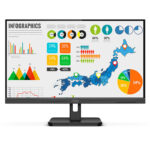 AOC 24″ FHD 75Hz IPS Monitor with Speakers (24E2QA)